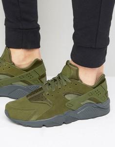 Зеленые кроссовки Nike Air Huarache Run 852628-301 - Зеленый