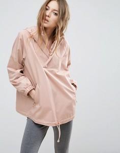 Куртка с капюшоном и кольцом ASOS - Розовый