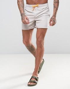 Шорты для плавания с неоновым шнурком D Struct - Серый