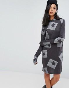 Облегающее платье Cheap Monday Strict - Серый