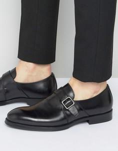 Черные кожаные монки Aldo Korelle - Черный