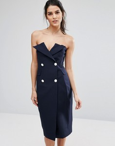Платье Asilio Point Blank - Темно-синий