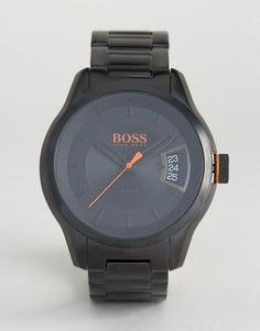 Черные часы BOSS Orange By Hugo Boss Hong Kong Sport 1550005 - Черный