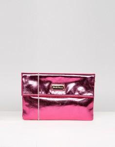 Клатч с откидным клапаном Claudia Canova - Розовый