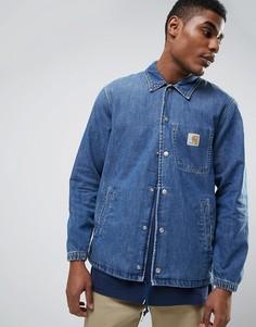 Спортивная джинсовая куртка Carhartt WIP - Синий