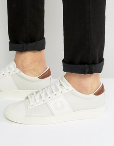 Сетчатые кроссовки Fred Perry Spencer - Белый