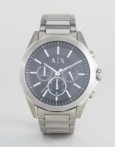 Наручные часы с хронографом Armani Exchange AX2600 - Серебряный