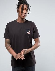 Черная футболка с нашивкой тигра Maharishi - Черный