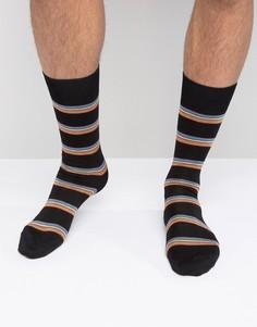 Черные носки в полоску Paul Smith - Черный