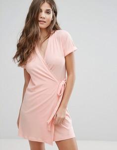 Платье с запахом Parisian - Розовый