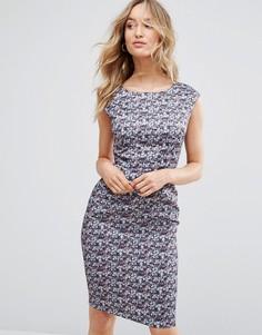 Цельнокройное платье с цветочным принтом Sugarhill Boutique - Фиолетовый