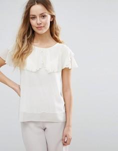 Блузка с отделкой Jasmine - Кремовый