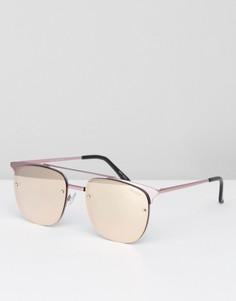 Солнцезащитные очки Quay Australia Private Eve - Розовый