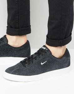Черные классические замшевые кроссовки Nike Match 844611-004 - Черный