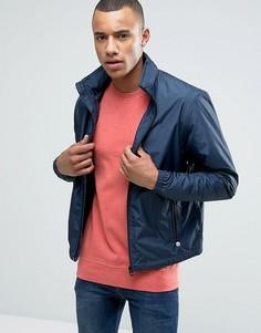 Куртка Харрингтон со скрытым капюшоном Esprit - Темно-синий