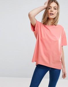 Oversize-футболка ASOS - Розовый