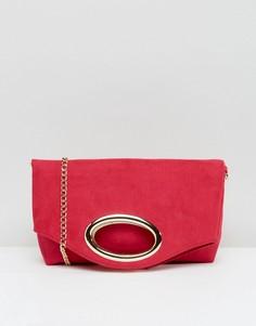 Розовый клатч Miss KG Tia - Розовый
