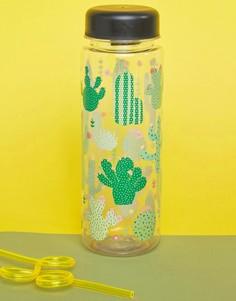 Бутылка для воды с кактусами Sass & Belle - Мульти