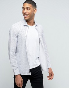 Рубашка на пуговицах с цветочным принтом Esprit - Белый