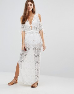 Кружевное пляжное платье макси 6 Shore Road - Мульти