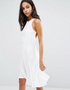 Платье мини Samsoe & Samsoe Sing - Кремовый