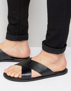 Кожаные сандалии Dune Iago - Черный