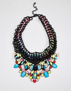Яркое и броское ожерелье в тропическом стиле ALDO - Мульти