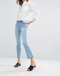 Укороченные джинсы с легким клешем Dr Denim Holly - Синий