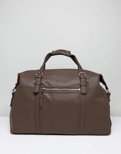 Темно-коричневая сумка New Look - Коричневый