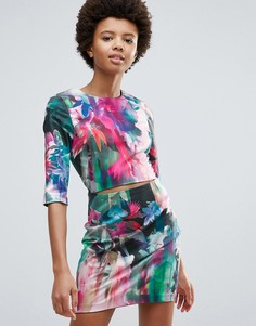 Облегающее платье с принтом Talulah New Beauty - Мульти