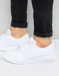 Белые кроссовки с эластичным ремешком ASOS - Белый