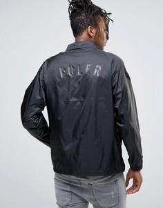 Спортивная куртка с логотипом сзади Poler - Черный