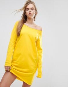 Трикотажное платье ASOS - Желтый