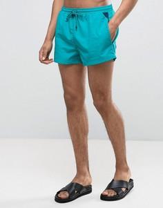 Зеленые шорты для плавания BOSS By Hugo Boss Mooneye - Зеленый