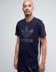 Футболка цвета индиго adidas Originals Tokyo Pack BK2220 - Синий