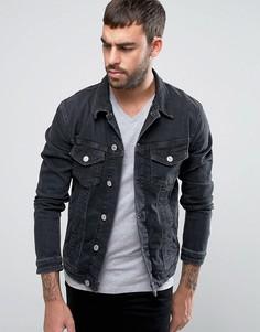 Джинсовая куртка Jack & Jones Intelligence - Черный