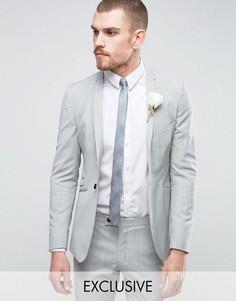 Супероблегающий пиджак Hart Hollywood - Серый