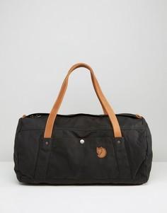 Черная сумка дафл Fjallraven No. 4 - 30 л - Черный