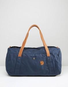 Темно-синяя сумка дафл Fjallraven No. 4 - 30 л - Темно-синий
