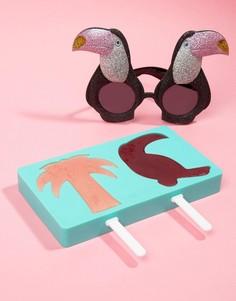 Формы для мороженого с тропическим дизайном Sunnylife - Мульти