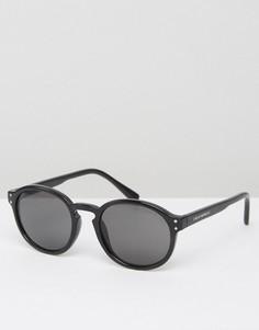 Черные круглые солнцезащитные очки Cheap Monday - Черный