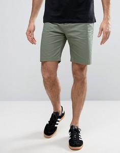 Зеленые прямые шорты-чиносы Penfield Yale - Зеленый