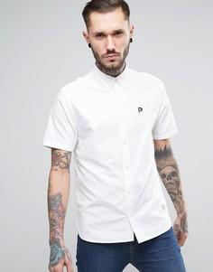 Белая оксфордская рубашка классического кроя Penfield Danube - Белый