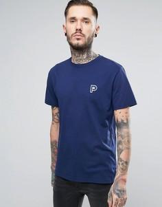 Темно-синяя футболка с маленьким логотипом Penfield Perris - Темно-синий