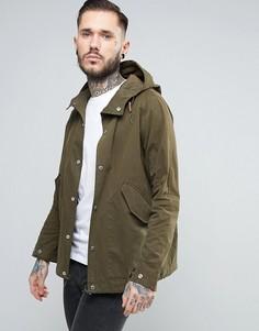 Зеленая непромокаемая куртка с капюшоном Penfield Davenport - Зеленый