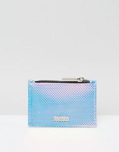 Переливающийся кошелек на молнии Skinnydip - Синий
