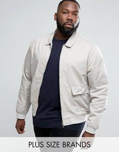 Хлопковая куртка Харрингтон D-Struct PLUS - Светло-серый