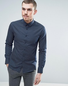 Рубашка в горошек Celio - Темно-синий