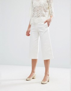 Джинсовая юбка-брюки Newlily - Белый