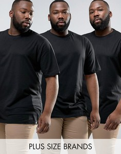 Набор из 3 футболок Dickies PLUS - Черный
